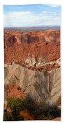 The Great Upheaval Dome Bath Towel