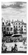 The Hague: Market, 1727 Bath Towel