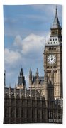 The Houses Of Parliament Bath Towel