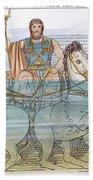 The Iliad: Neptune, 1805 Bath Towel
