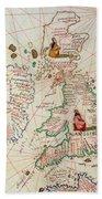 The Kingdoms Of England And Scotland Bath Towel