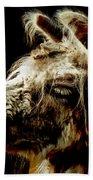 The Legendary Llama  Bath Towel