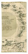 The Lesser Antilles Or The Windward Islands Hand Towel