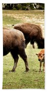 The Mighty Bison Bath Towel