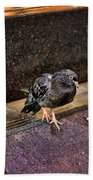The Mighty Pigeon Bath Towel