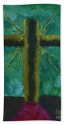 The Old Rugged Cross Bath Towel