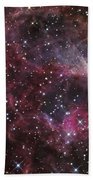 The Omega Nebula Bath Towel
