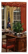 The Oval Office Bath Towel