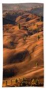 The Painted Dunes Bath Towel