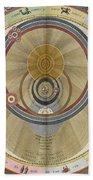 The Planisphere Of Brahe Harmonia Bath Towel