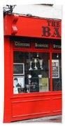 The Red Barber Shop Bath Towel