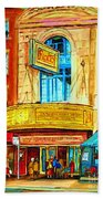 The Rialto Theatre Bath Towel