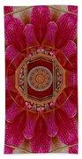 The Sacred Orchid Mandala Bath Towel