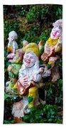 The Singing Gnomes Bath Towel