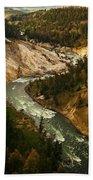 The Snaking Yellowstone Bath Towel