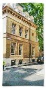 The Streets Of London Bath Towel