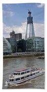 The Thames London Bath Towel