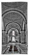 The Tombs At Fontevraud Abbey   France Bath Towel