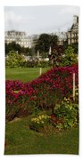 The Tuilleries Garden In Paris Bath Towel