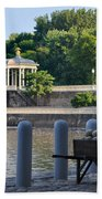 The Waterworks Wheelbarrow - Philadelphia Bath Towel