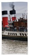 The Waverley Paddle Steamer Bath Towel