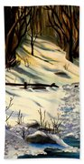 The Winter Trail Hand Towel