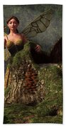 The Wood Sprite Hand Towel