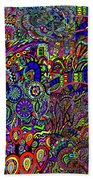 The World Largest Migraine Artwork Bath Towel