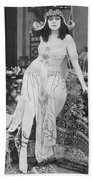Theda Bara (1885-1955) Bath Towel