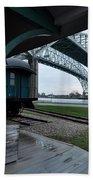 Thomas Edison Depot And Blue Water Bridges 2012 Bath Towel