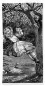 Thomas: The Swing, 1864 Bath Towel