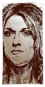 Three Interpretations Of Celine Dion Hand Towel