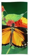 Tiger Longwing Heliconius Hecale Bath Towel