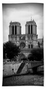 Timeless Notre Dame Bath Towel