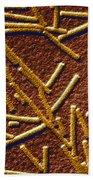 Tobacco Mosaic Virus Bath Towel
