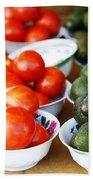 Tomato Y Avacado Bath Towel