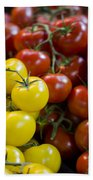 Tomatoes On The Vine Bath Towel