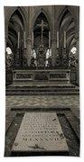 Tomb Of William The Conqueror Bath Towel