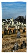 Tombstones Bath Towel