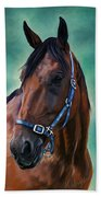 Tommy - Horse Painting Bath Towel