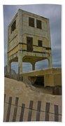 Topsail Island Observation Tower 6 Bath Towel
