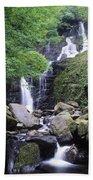 Torc Waterfall, Killarney, Co Kerry Bath Towel