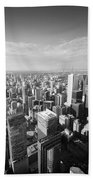 Toronto From Above Bath Towel