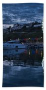 Torquay Marina And The Big Wheel Bath Towel