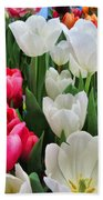 Totally Tulips Bath Towel