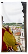 Tower Trumpeter - Prague Bath Towel
