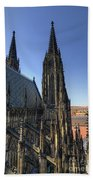 Towers Of The Cathedral Bath Towel