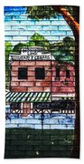 Town Wall Art Bath Towel