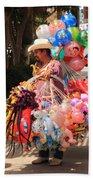 Toy Vender In San Jose Del Cabo Mexico Bath Towel