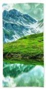 Travelers Rest Swiss Alps Bath Towel